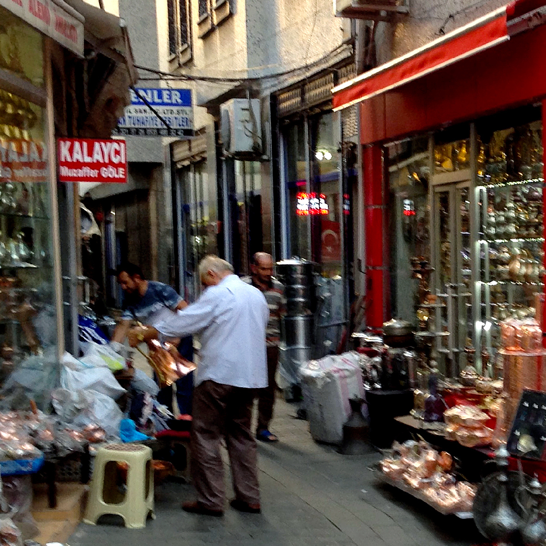 Image for Coppersmiths In Turkey Embrace Their Dying Art