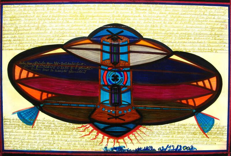 """Ionel Talpazan's """"Fundamental UFO""""."""