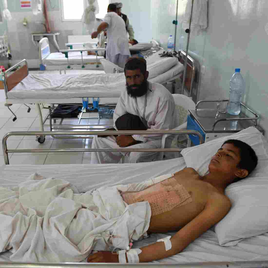 Kunduz Airstrike Reportedly Kills 19 At Doctors Without Borders Hospital