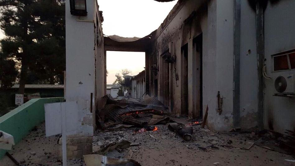MSF, hospital de Kunduz
