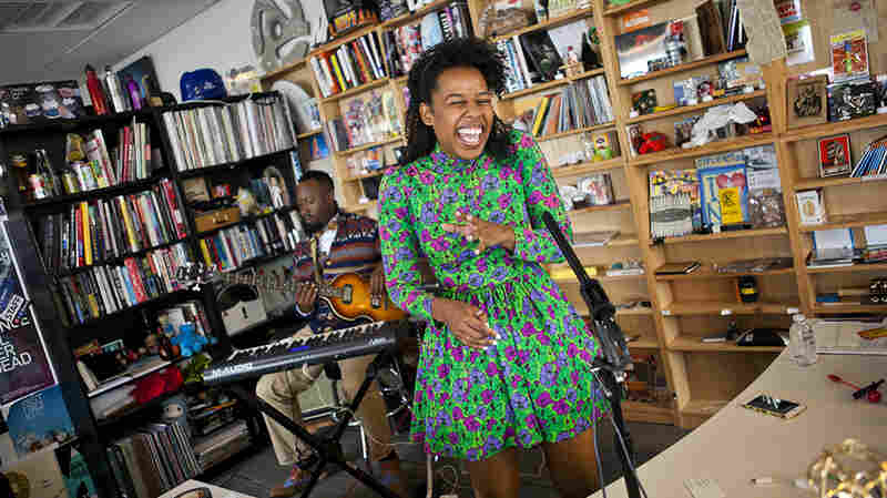 Tiny Desk Concert with Deqn Sue.