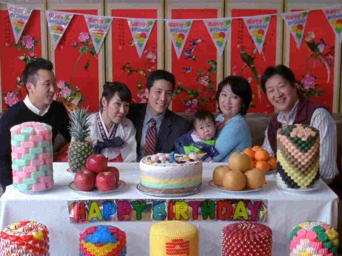 Still from the short film Dol (First Birthday)