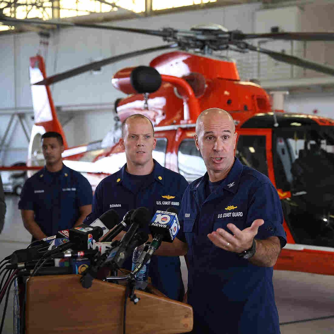 Coast Guard Says Cargo Ship Sank; Body Of 1 Crew Member Found