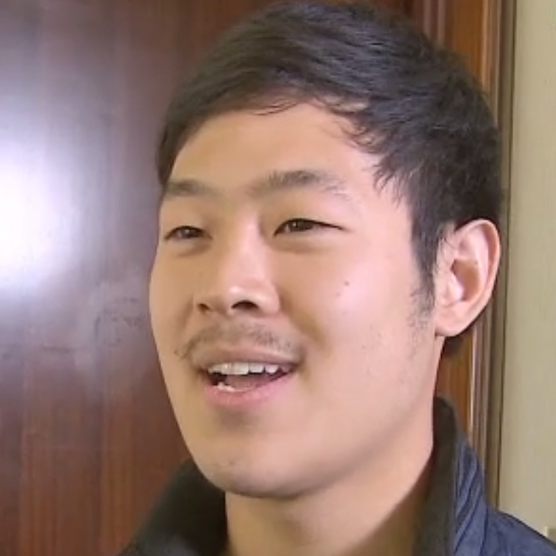 A screen grab from Joo Won-moon's interview with CNN from Pyongyang in May.