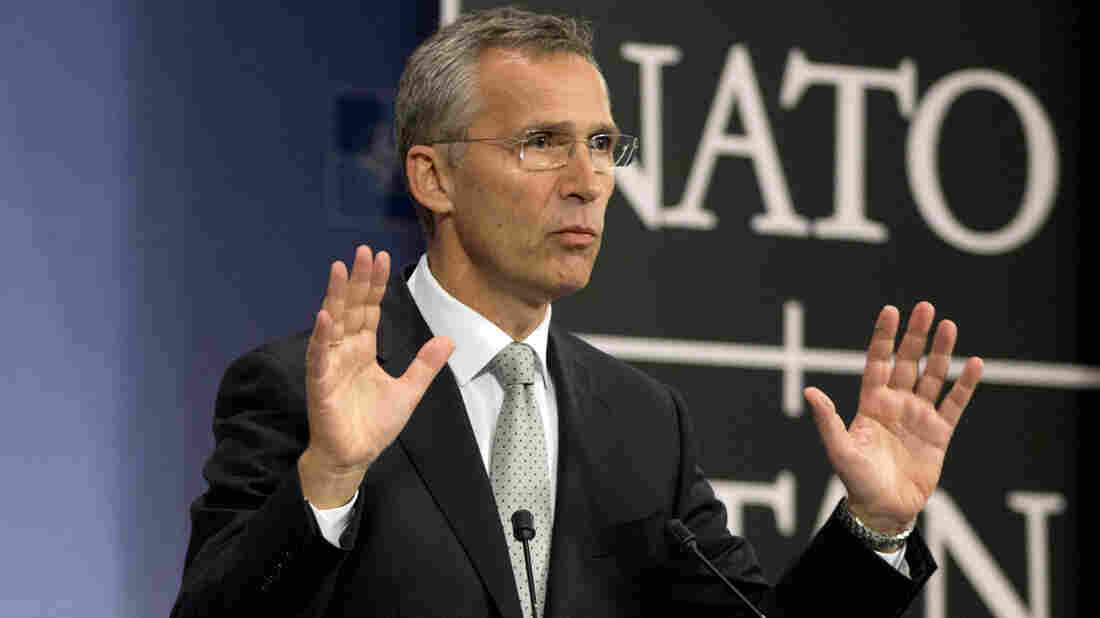 """This is unacceptable,"" NATO Secretary-General Jens Stoltenberg said of Russian military aircraft violating Turkey's airspace. NATO defense ministers will meet Thursday to discuss the situation."