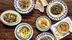 """Michael Solomonov describes Israeli-style hummus as """"a marriage of chickpeas and tehina."""""""