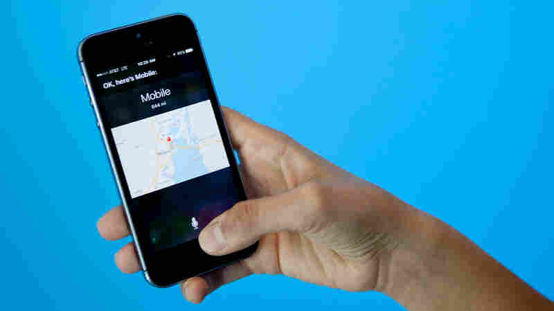 Siri on iPhone.