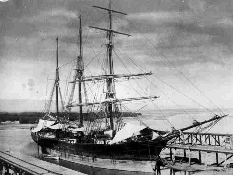 The Empress of China, photographed in 1876. Nearly a century earlier, this trading ship set sail from New York, inaugurating America's trade with China. It went in search of tea.