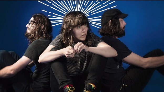 """A scene from Courtney Barnett's video for her new single, """"Shivers."""" (YouTube)"""