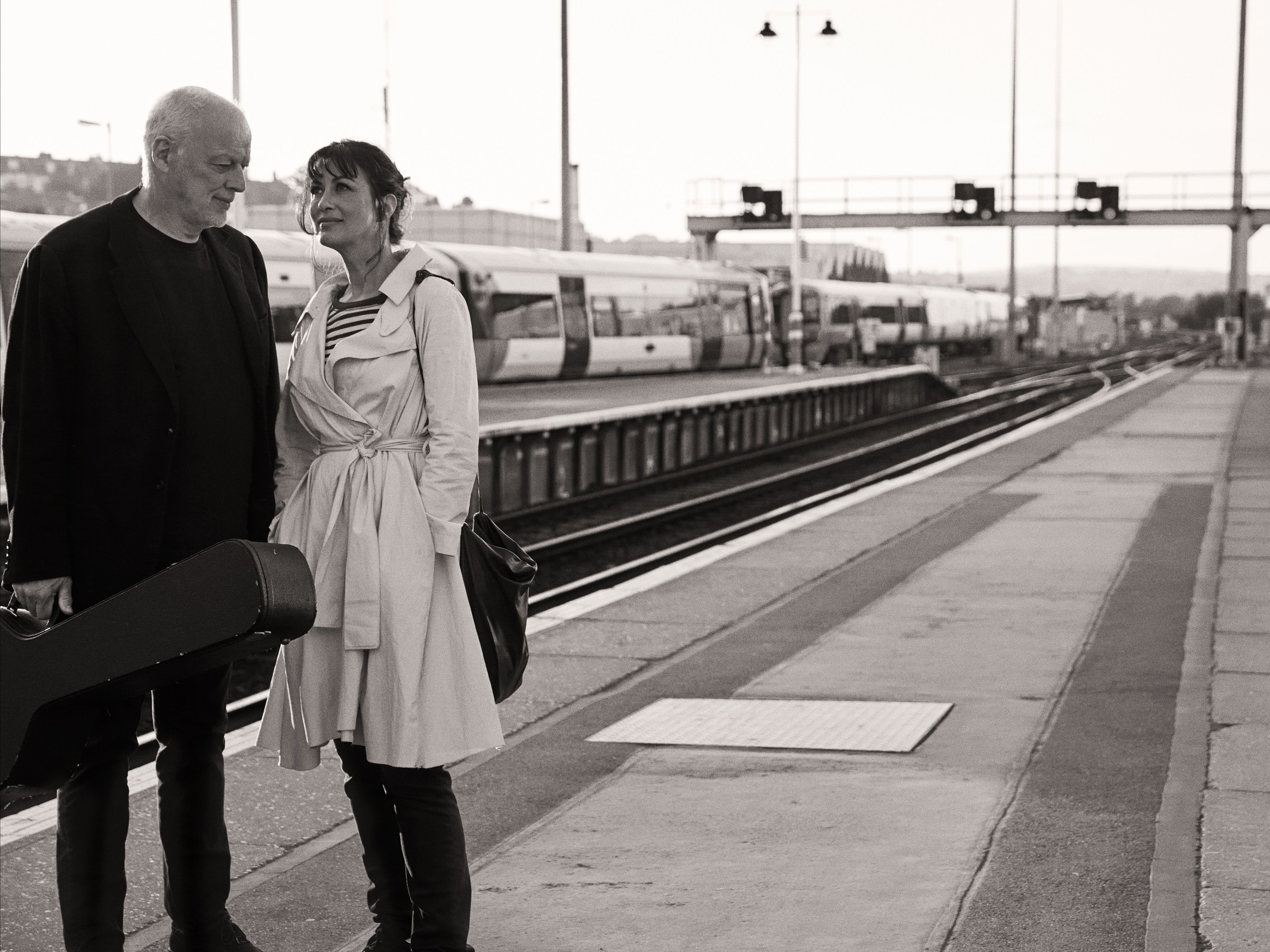 'Such A Perfect Fit': David Gilmour And Polly Samson On 20 Years Of Collaboration
