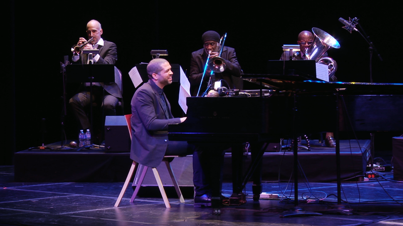 Jason Moran leads an expanded version of his band at the Kennedy Center in Washington, D.C.