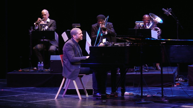 Jason Moran leads an expanded version of his band at the Kennedy Center in Washington, D.C. (NPR)