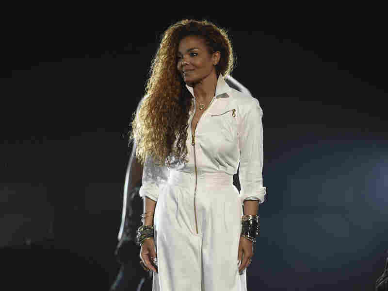 Janet Jackson accepts the ultimate icon: music dance visual award at the BET Awards on June 28 in Los Angeles.