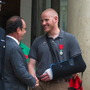 Hero In French Train Attack, Spencer Stone, Stabbed In California