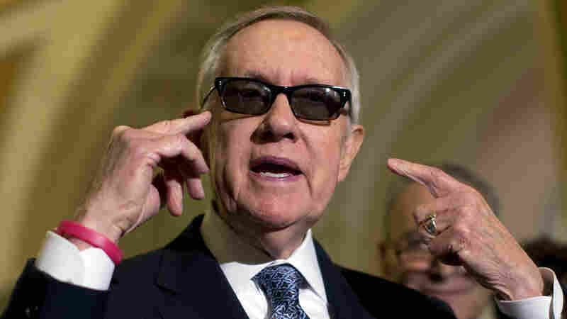 Sen. Harry Reid Sues Makers Of Exercise Band Over His Injuries