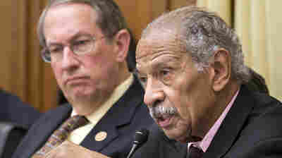 """House Judiciary Committee Chairman Bob Goodlatte (left) and Ranking Member Rep. John Conyers said their proposal comes after months of negotiations """"to ensure our federal criminal laws and regulations appropriately punish wrongdoers ... and do not waste taxpayer dollars."""""""