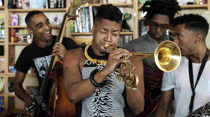 Christian Scott aTunde Adjuah: Tiny Desk Concert
