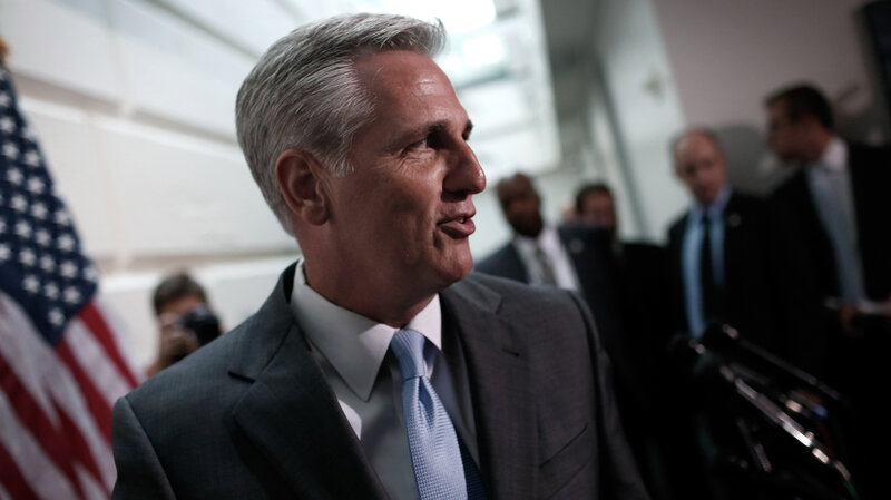 Rep. Kevin McCarthy reportedly told House Republicans he didn't have a path to victory.