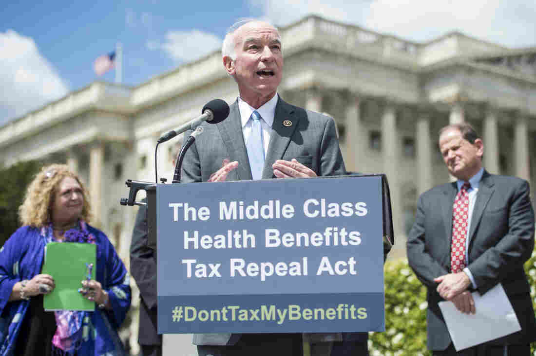 Rep. Joe Courtney, D-Conn., proposed a bill in April to repeal the impending excise tax on employee health benefits that Obamacare deems excessive.