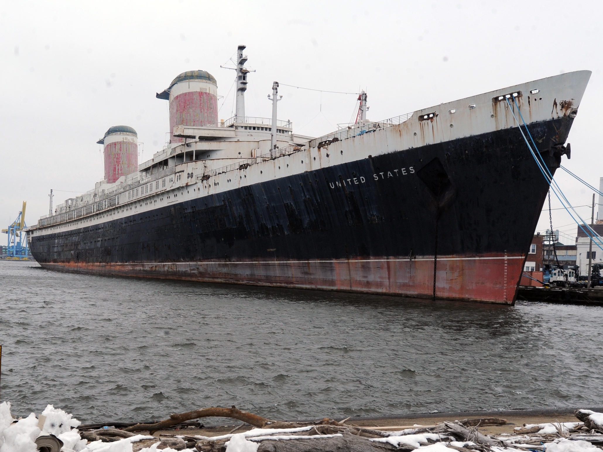 SS United States, Once A Marvel Of Technology, May Be Sold For Scrap