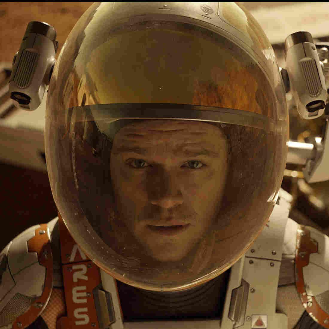 Matt Damon as Astronaut Mark Watney in The Martian.