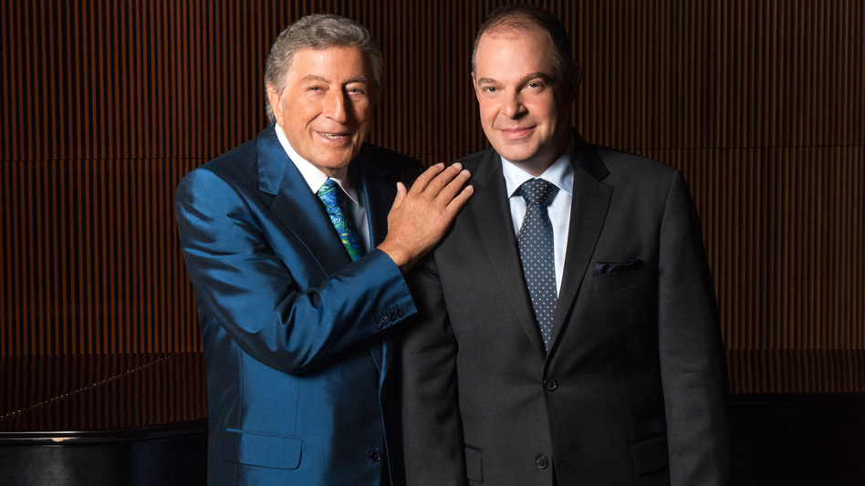 Tony Bennett and Bill Charlap's new album, The Silver Lining: The Songs of Jerome Kern, is out now. (Courtesy of the artist)