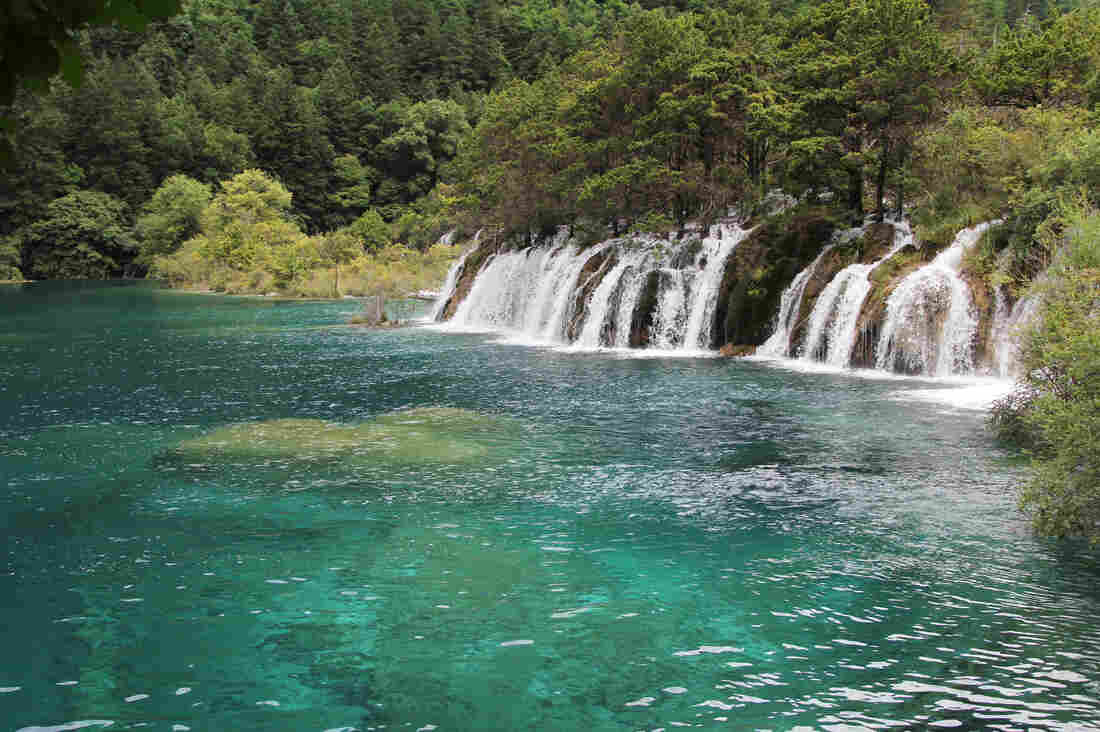 Jiuzhaigou is a spectacular mountain valley filled with waterfalls in Sichuan province in China's southwest.