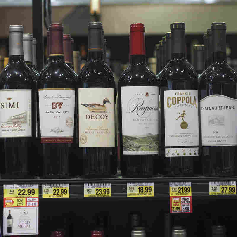 Wine labels.
