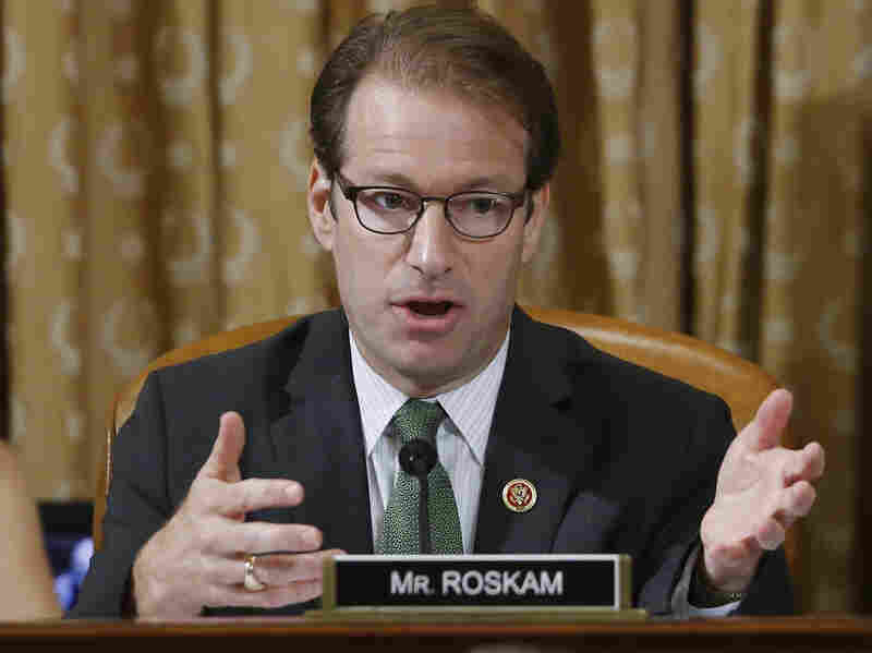 """Rep. Peter Roskam, R-Ill., is one of two """"names [that] keep cropping up in conversations with GOP members,"""" wrote National Review."""