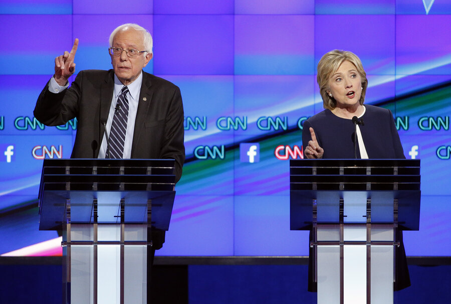 The First Democratic Presidential Debate In 100 Words (And A Video ...