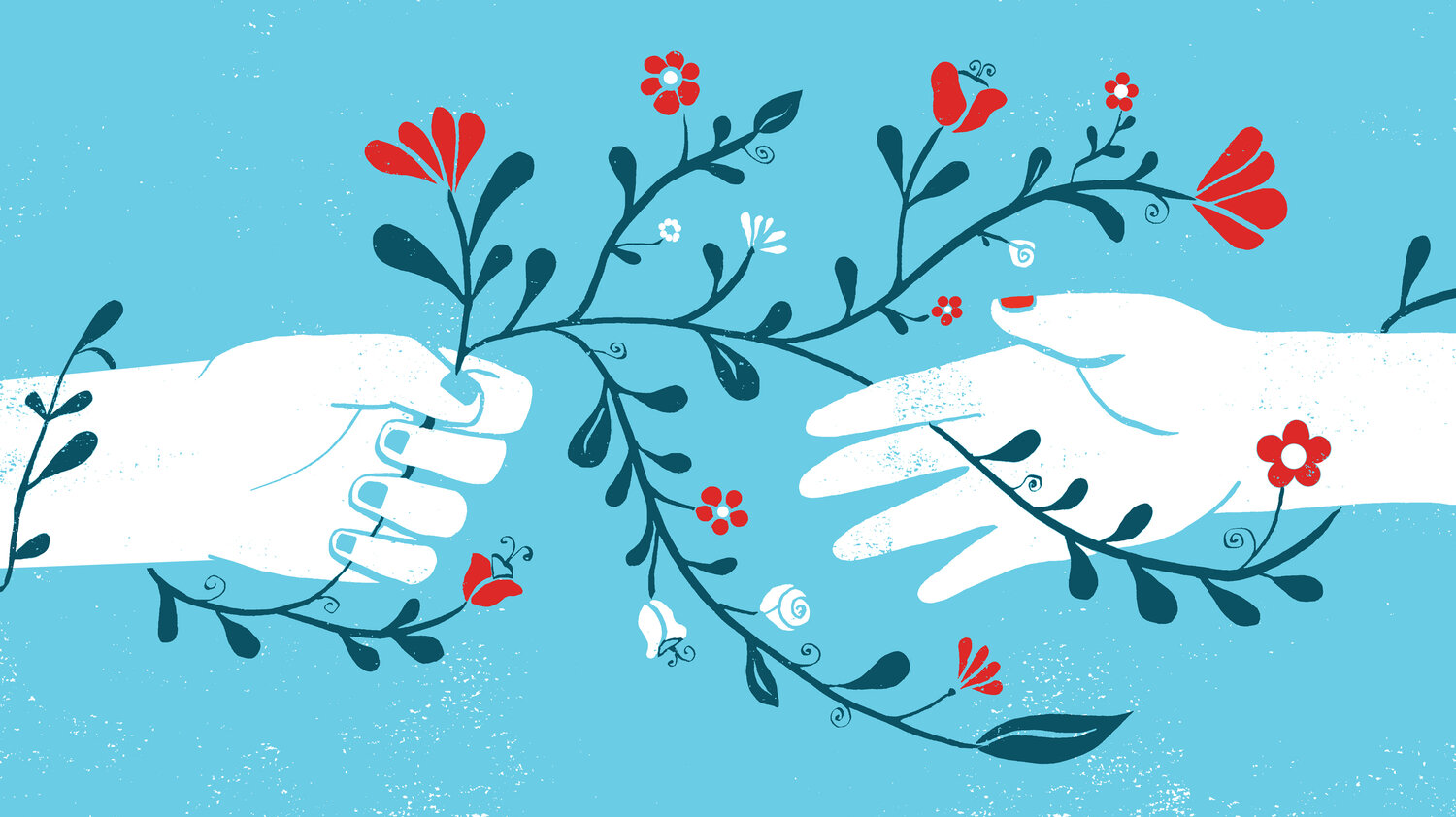 """Compassion is contagious,"" Professor Scott Plous says. ""We talk about paying it forward; the idea that if you do something good for another person [...] it sets off a kind of chain reaction."""
