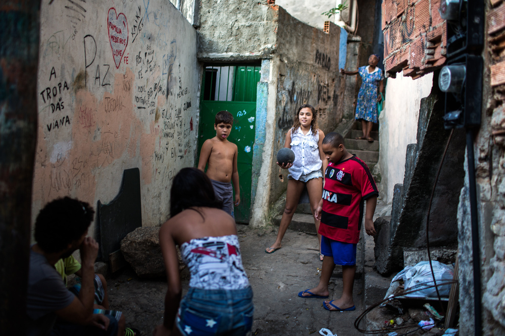 Sex in the favela not take