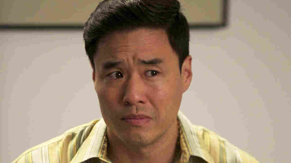 "Randall Park plays Louis Huang on the ABC comedy Fresh Off the Boat. He says it was easy for the show to steer clear of ""easy"" racist jokes. ""To us that's not funny,"" he says. ""We weren't going to go there."""