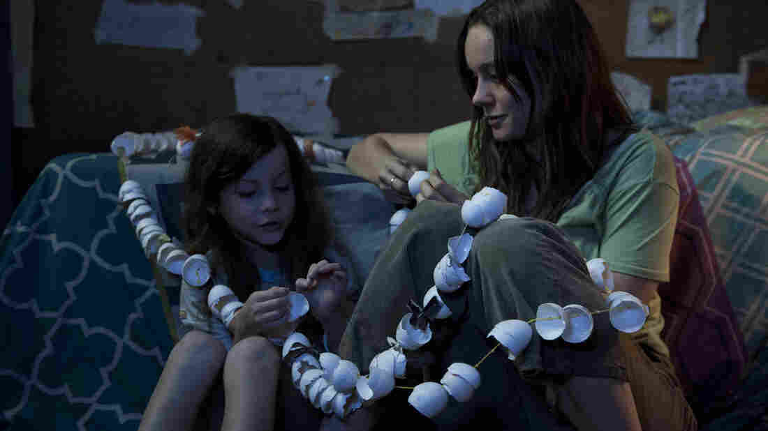 Jack (Jacob Tremblay) and his Ma (Brie Larson) have been trapped in a windowless room for all of Jack's young life.