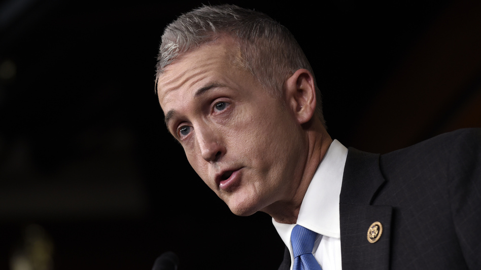 House Select Committee on Benghazi Chairman Rep. Trey Gowdy, R-S.C., speaks at a news conference in Washington in March about former Secretary of State Hillary Clinton using her personal email account for official business.