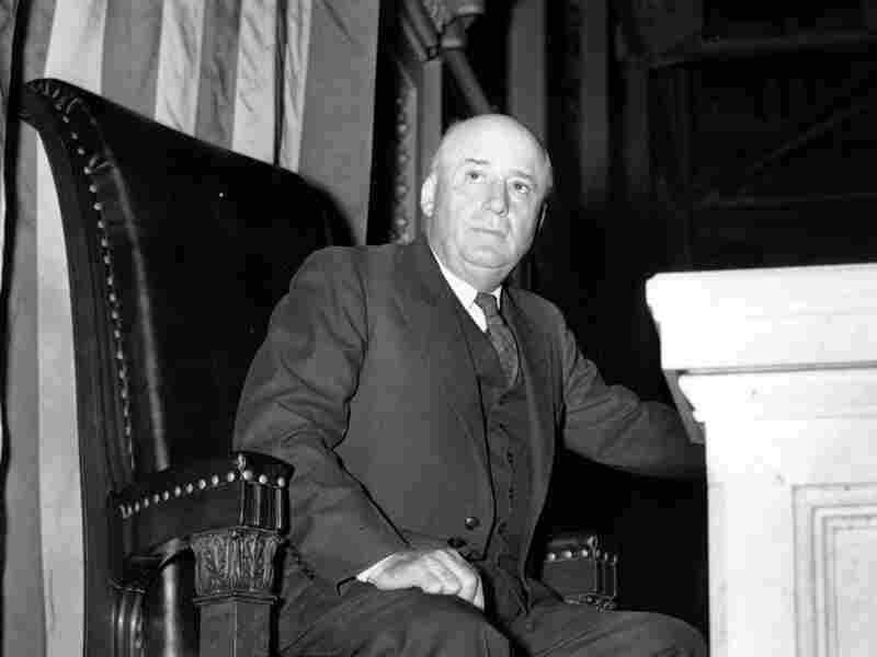 Rep. Sam Rayburn, D-Texas, takes his position in the speaker's chair of the House of Representatives in 1941.
