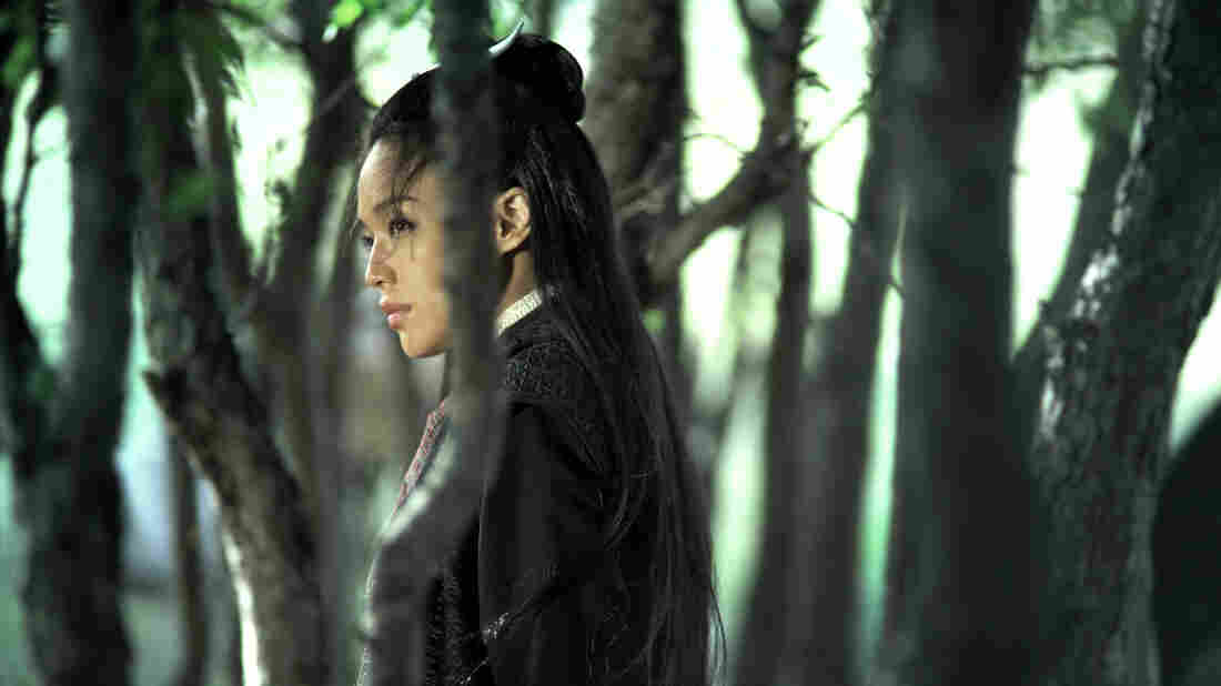 Shu Qi in a scene from The Assassin.