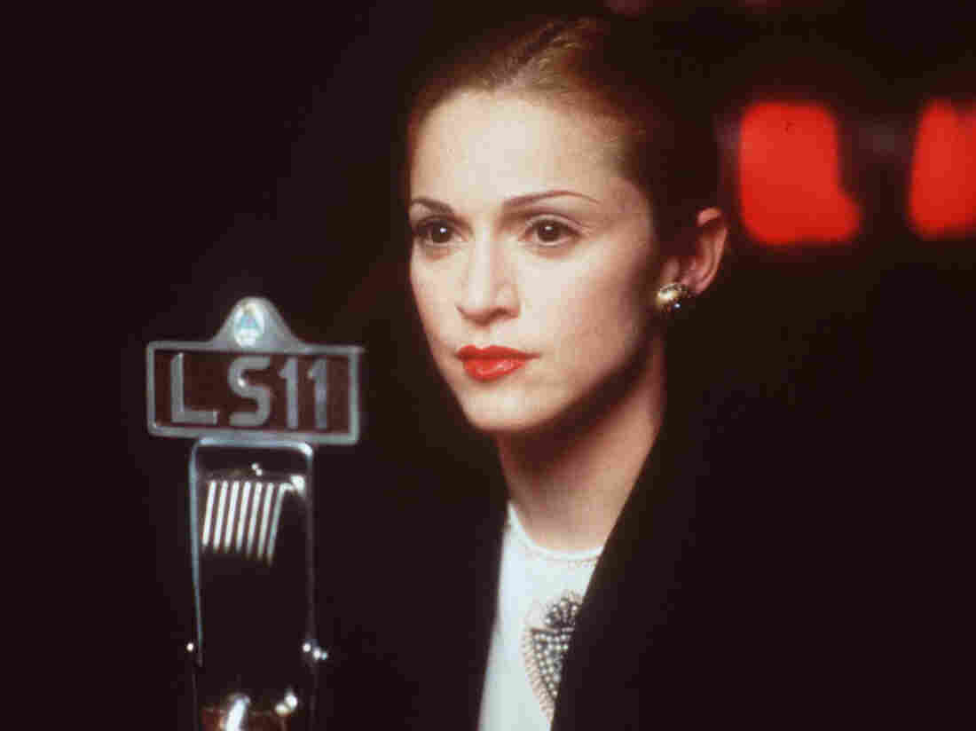 Madonna in the 1996 movie Evita.