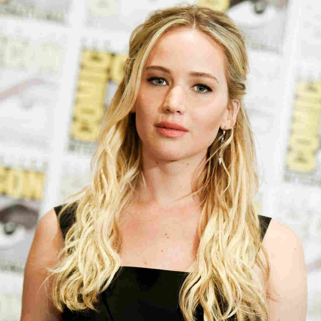 Jennifer Lawrence attends a media event for The Hunger Games: Mockingjay Part 2 in San Diego in July.