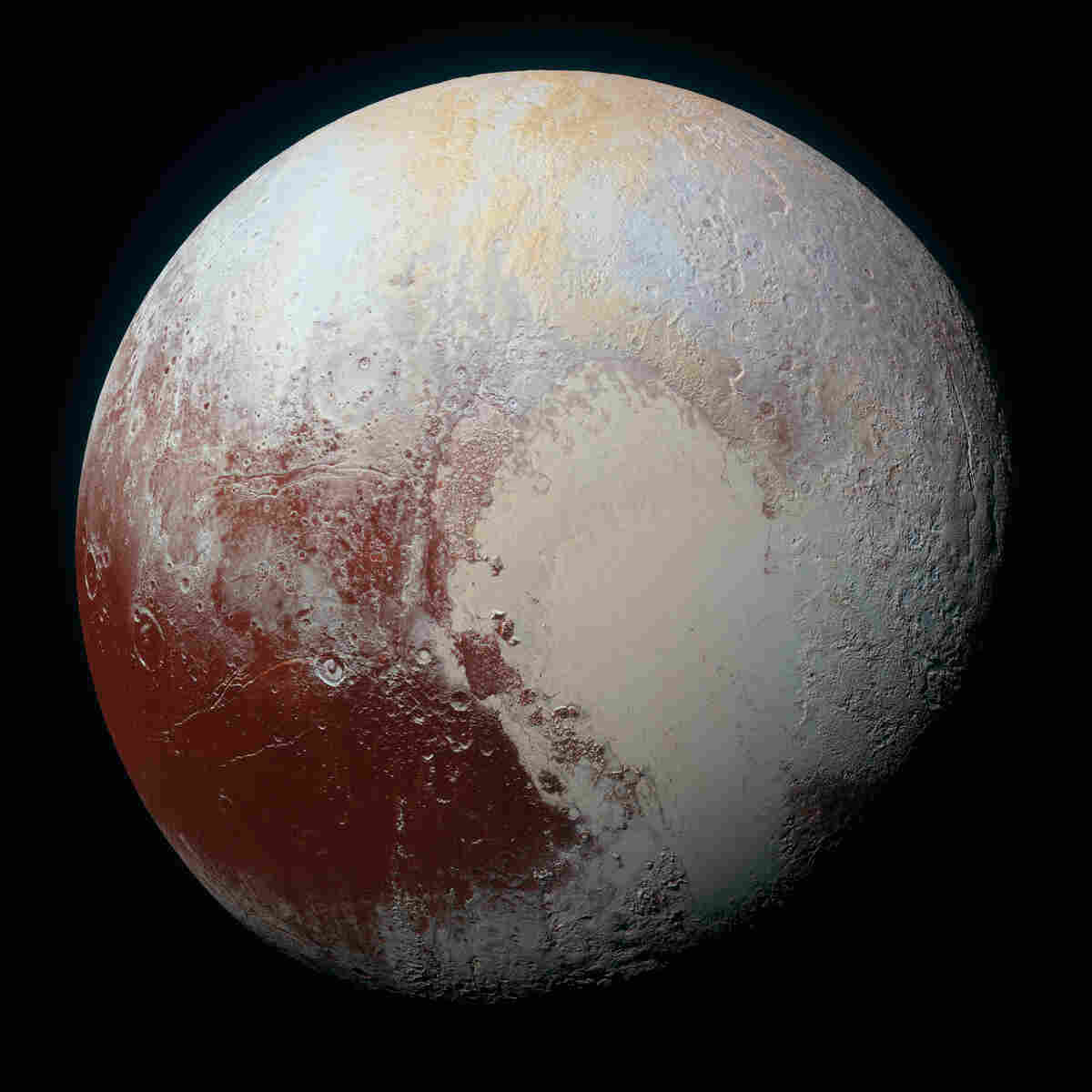 NASA's New Horizon mission flew past Pluto on July 14, revealing a world with glaciers, mountains and an atmosphere.