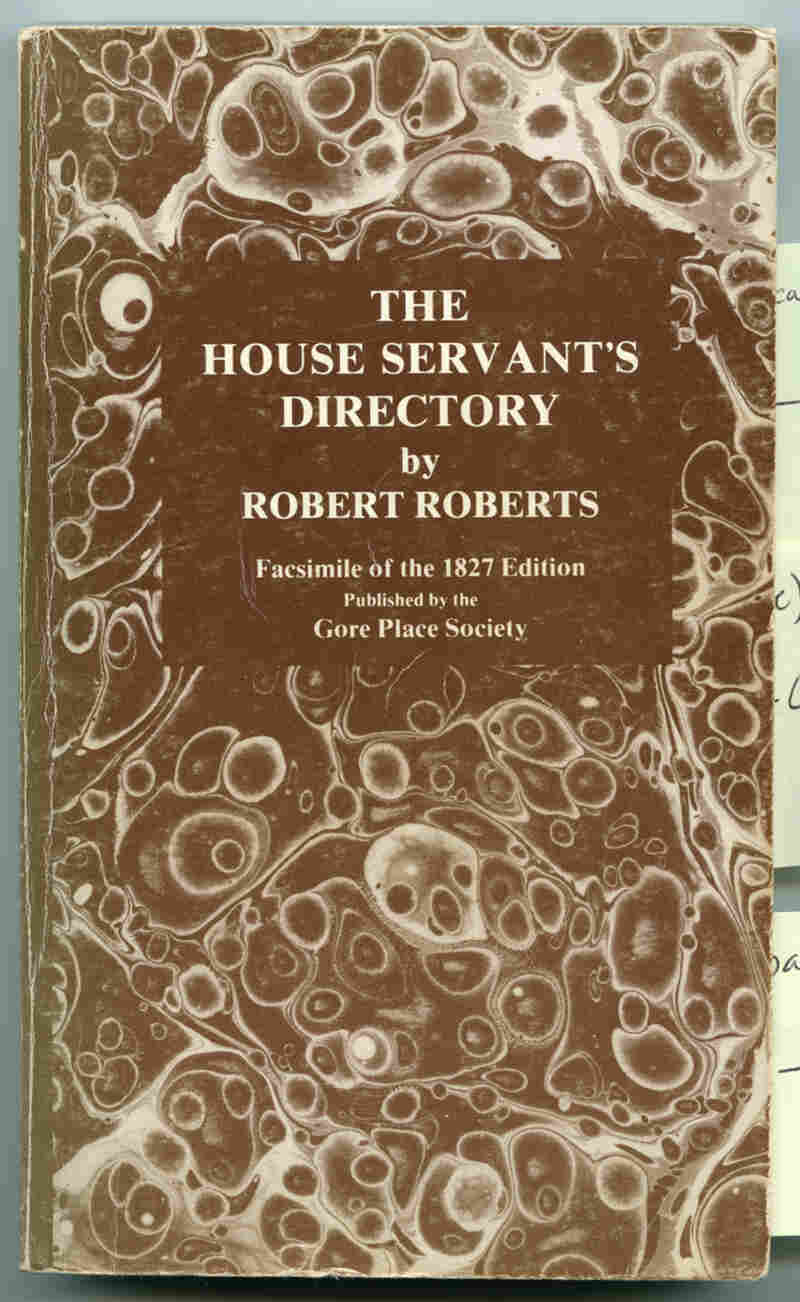 Robert Roberts was not a chef, and his 1827 manual on household management has not historically been considered a cookbook, but Toni Tipton-Martin notes that it includes recipes and cooking tips.