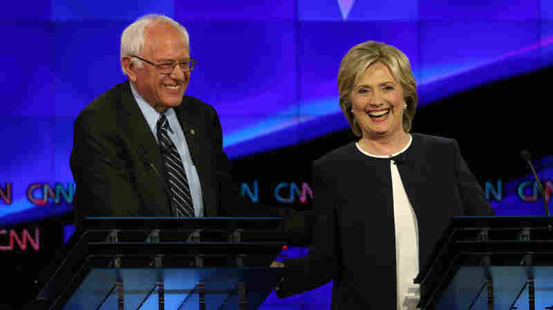Bernie Sanders' and Hillary Clinton's fundraising numbers got a lot closer last quarter, thanks in part to Sanders' huge small-donor base.