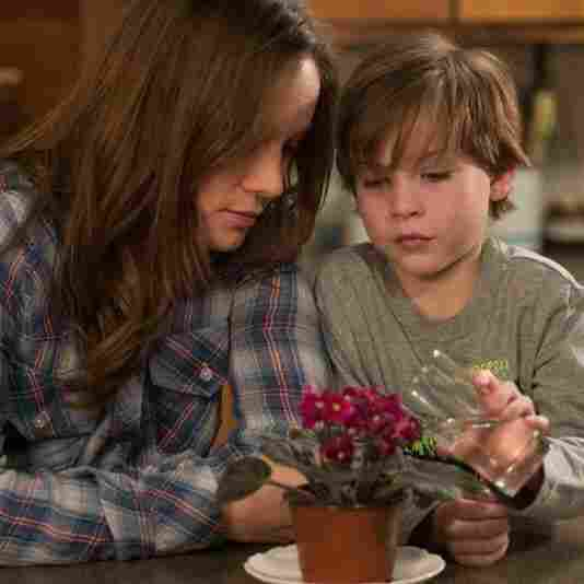 Brie Larson as Ma and Jacob Tremblay as Jack in the new movie adaptation of Room.