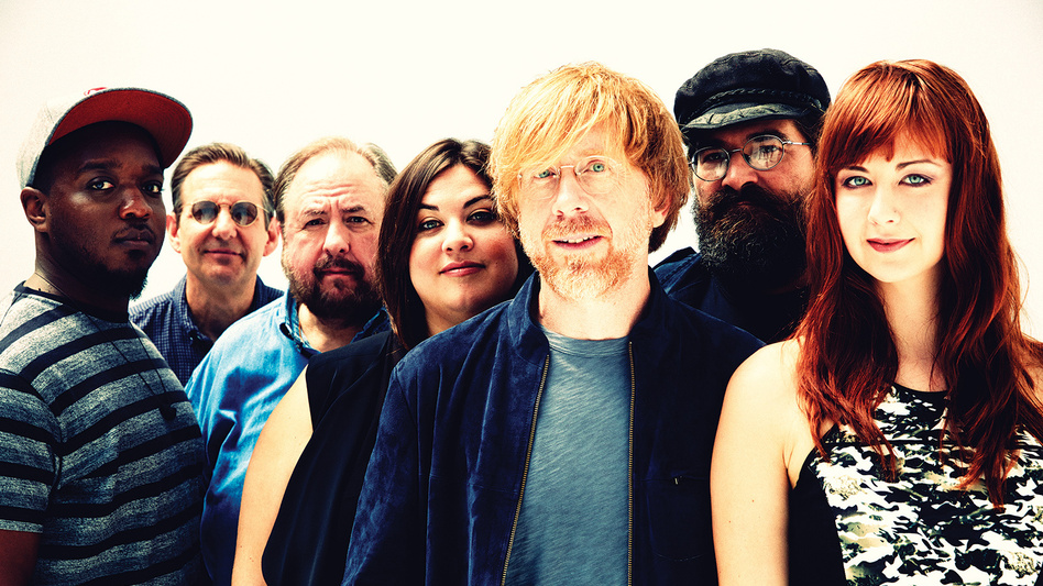 Trey Anastasio's new album, Paper Wheels, comes out Oct. 30. (Courtesy of the artist)