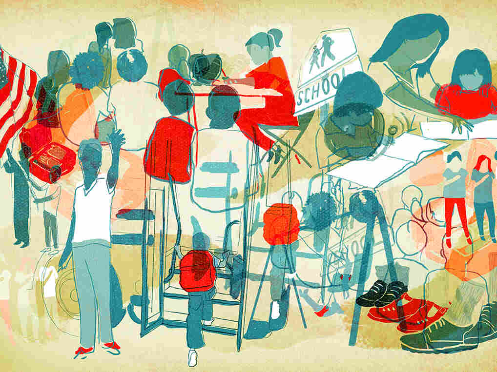 Evidence suggests that diverse school districts benefit white students.