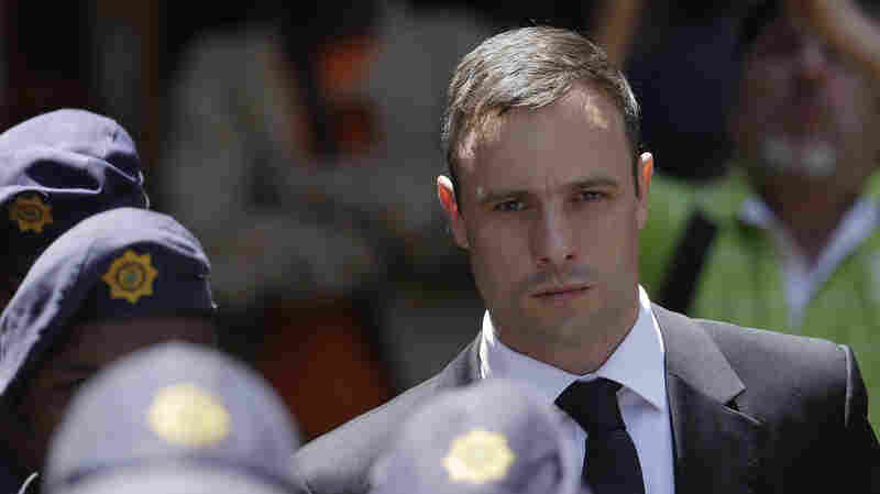 Oscar Pistorius was found guilty of culpable homicide, which is equivalent to manslaughter, in the 2013 shooting death of his girlfriend. After less than a year in jail, he was released to house arrest.