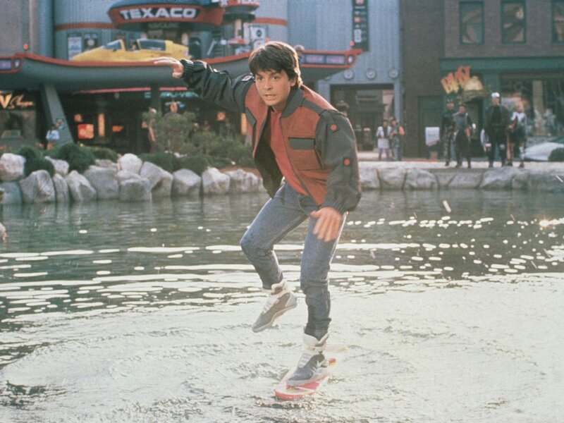 2a2dd7c8 Back To The Future Part 2': Designing A Future For 30 Years Ago : NPR
