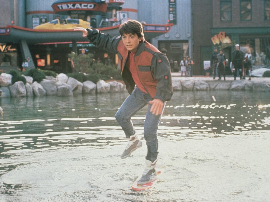 Michael J Fox Back To The Future Shoes