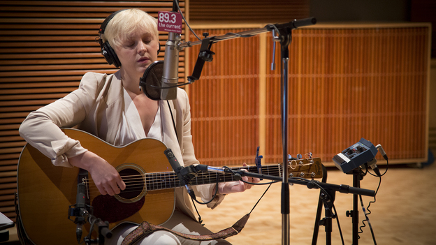Laura Marling performs live in The Current's studios. (The Current)