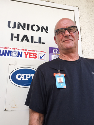 Michael Jarschke, who leads the Napa Chapter of the California Association of Psychiatric Technicians, has worked at Napa State Hospital for 32 years. He pushed to create a new alarm system with GPS to protect staff members.
